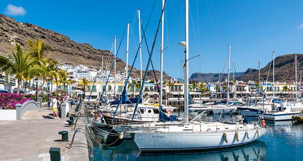 Puerto de Mogan havn